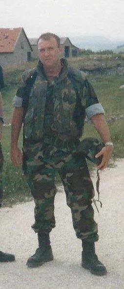 Tony Johnson in Bosnia